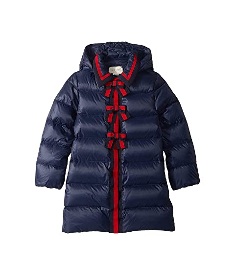 Gucci Kids Quilted Coat w/ Hood (Little Kids/Big Kids)