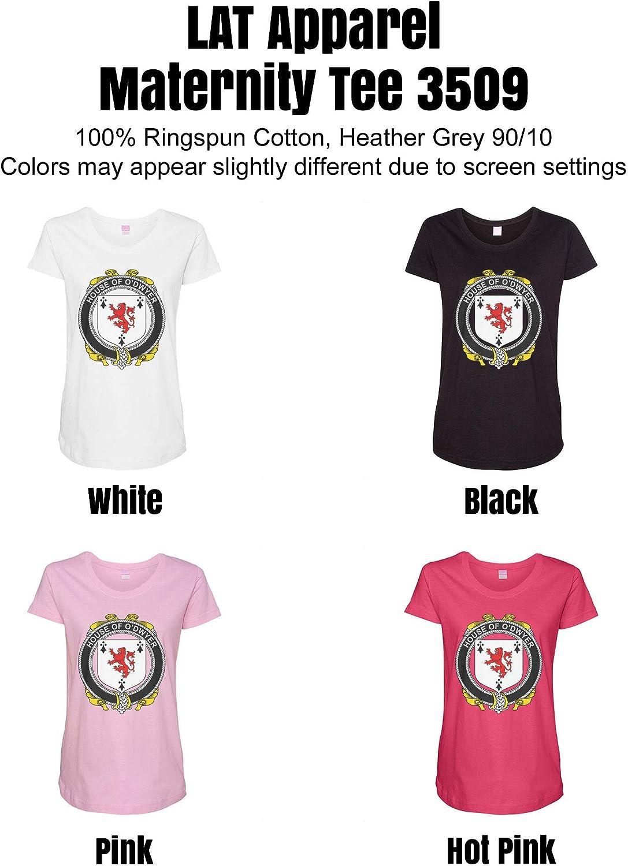 HARD EDGE DESIGN Women's Irish House Heraldry O'Dwyer T-Shirt