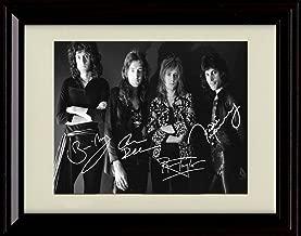 Framed Queen Autograph Replica Print