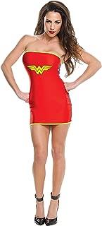 Rubie's Women's DC Superheroes Wonder Woman Tube Dress, Multi, Small