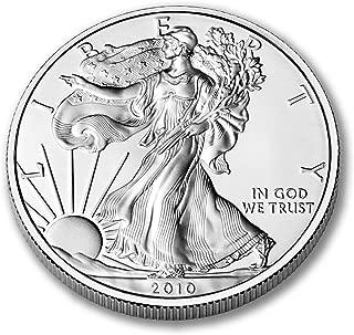 2010 American Eagle One Ounce Silver Bullion Dollar Uncirculated
