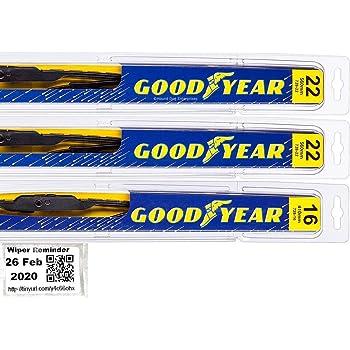 Amazon Com Windshield Wiper Blade Set Kit Bundle For 2002 2006