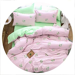 retro store Home Textile Black White Stripe Brief Bedding Set Boy Kid Girls Adult Linen Soft Duvet Cover Pillowcase Bed Sheet Queen,21,Queen,Flat Bed Sheet