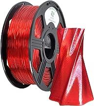 YOYI 3D Printer Filament,Petg Filament 1.75mm,Dimensional Accuracy +/- 0.03 mm,1kg Spool(2.2 lbs),100% raw Material, Eco-Friendly (Red)
