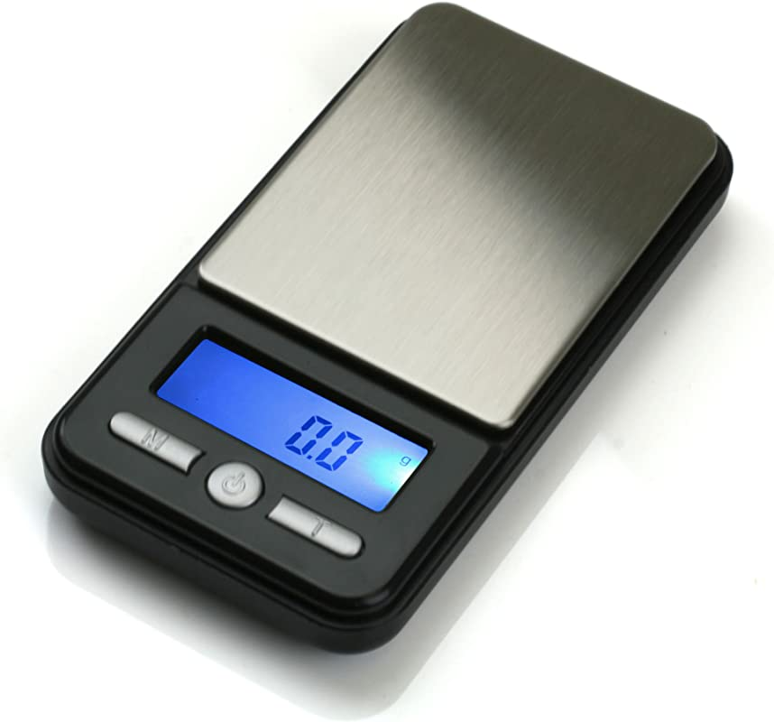 American Weigh Scale AC Series Digital Pocket Weight Scale Black 650G X 0 01G AC 650 BLK