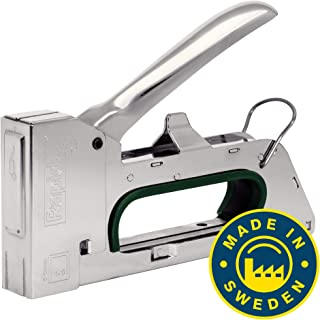 Rapid Staple Gun for Professional Applications, All-Steel Body, Pro, R14, 5000438