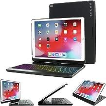 Snugg iPad Mini 5 Keyboard [Black] Backlit Wireless Bluetooth Keyboard Case Cover 360° Degree Rotatable Keyboard for Apple iPad Mini 5