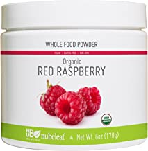 Nubeleaf Raspberry Powder - Non-GMO, Gluten-Free, Raw, Organic, Vegan Source of Fiber, Antioxidants, Essential Vitamins & Minerals - Single-Ingredient Nutrient Rich Superfood for Cooking, Baking
