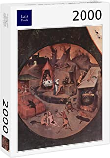 Lais Jigsaw Hieronymus Bosch - Table with Scenes of The Seven Deadly sins and The Last Four Things, Scene: Hell, Detail: Punishment of The Seven Deadly sins 2000 Pieces