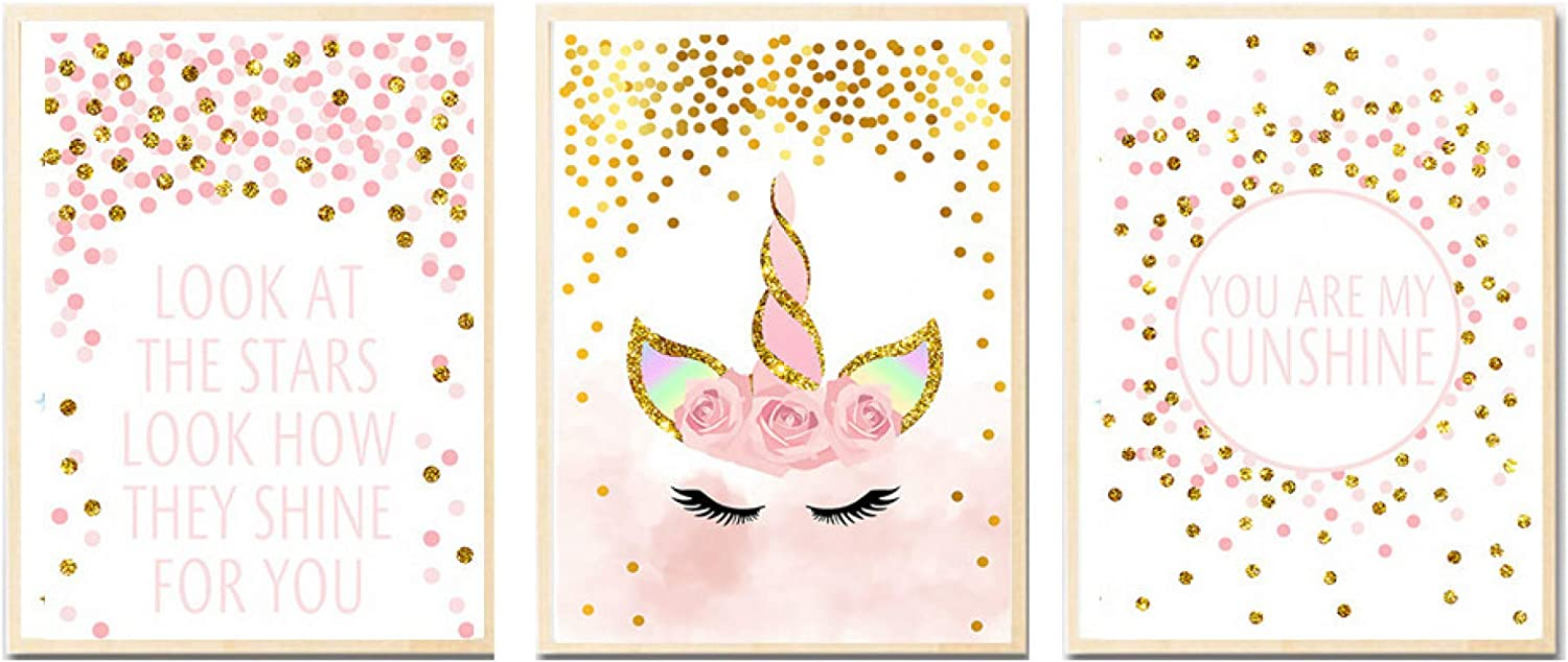 5D Diamond Painting Kit, Unicorn Embroidery Canvas Wall Decor