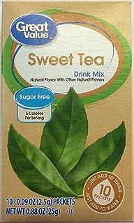 great value sugar free sweet tea