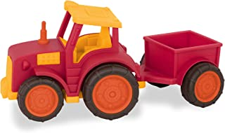 Wonder Wheels by Battat – Toddler Tractor Vehicle with Detachable Trailer for Kids 1+ (7pcs)