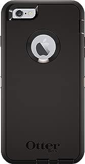 OtterBox DEFENDER iPhone 6 Plus/6s Plus Case - Frustration Free Packaging - BLACK (Renewed)