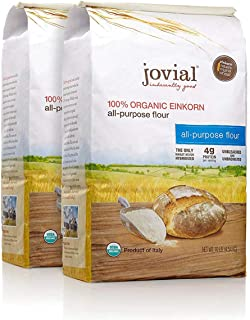 Jovial Organic Einkorn All-Purpose Flour, 10 Pounds (2 Pack)