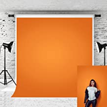 Kate 5x7ft Orange Backdrops for Photographer Photography Pure Color Solid Photo Background Portrait Studio Prop Baby Shoot