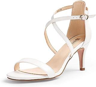 Amazon.com: sexy strappy white sandals