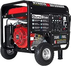 Durostar DS12000EH Dual Fuel Electric Start Portable Generator