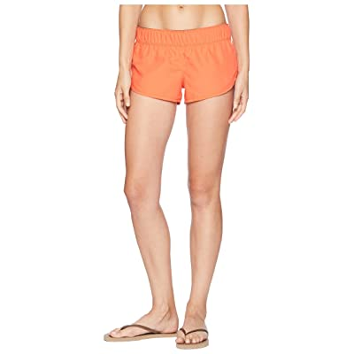 Hurley Supersuede Beachrider Shorts (Rush Coral) Women