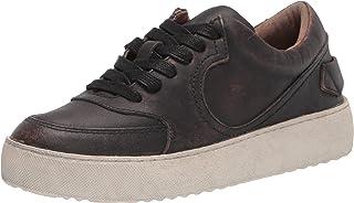 حذاء رياضي للنساء من Frye بتصميم غربي منخفض من الدانتيل، أسود، 7. 5