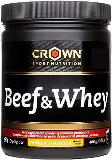 Crown Sport Nutrition Beef & Whey Proteína de Carne y Leche ...