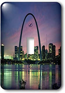 st louis arch lighting