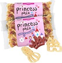 Pastabilities Princess Pasta, Fun Shaped Noodles for Kids, Non-GMO Natural Wheat Pasta 14 oz (2 Pack)