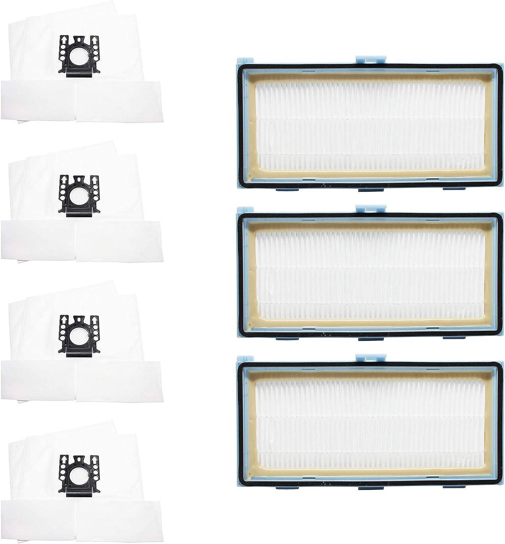8 人気ブランド Replacement for Miele セール特価 S318i Vacuum Filters Bags Micro 3 H
