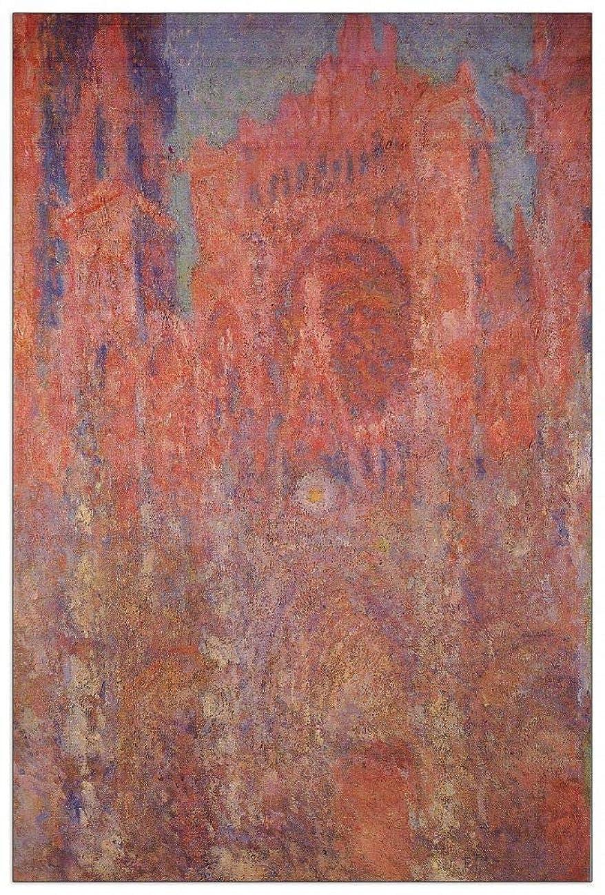 ArtPlaza TW91720 Monet Claude - Rouen Cathedral Facade Decorative Panel 27.5x39.5 Inch Multicolored