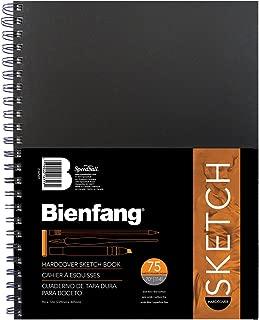 Bienfang 9 by 12-Inch Hardcover Bienfang Sketch Book