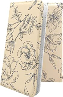 BASIO4 ケース 手帳型 花柄 花 フラワー 薔薇 バラ ローズ ベイシオ 和柄 和風 日本 japan 和 basio 4 おしゃれ 10666-wovsdk-10001634-basio 4