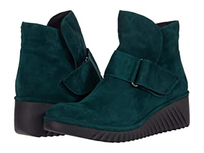 FLY LONDON LABE227FLY (Green Forest Silky Leather) Women