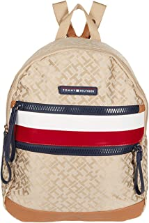 Drea II - Medium Backpack - Geometric Jacquard Khaki Tonal One Size