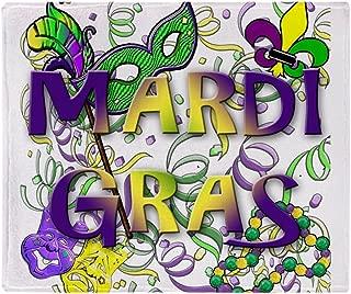 Best mardi gras blanket Reviews