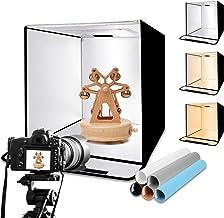 "EMART Photography Light Box Kit, 24""x24"" Table Top Photo Studio, Portable Shooting Tent with 224 LED Lighting 5 Backdrop f..."