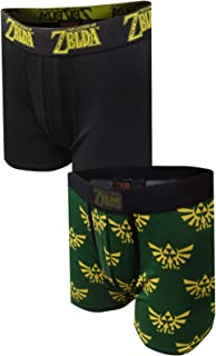 MJC Men's Nintendo The Legend of Zelda 2 Pack Boxer Briefs