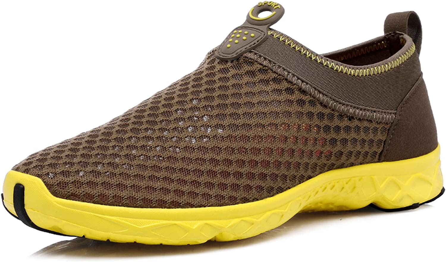 Women's Water shoes Beach sneakers Unisex Mesh Slip On Garden Park Driving Boating Sport shoes
