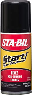 Start Your Engines! Fuel System Revitalizer and Starter Fluid for 2 and 4 Cycle Small Engines, 2 Fl. oz.