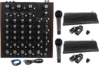 Rane MP2015 Rotary Club DJ 4-Deck Mixer w/USB+(2) Audio Technica ATM Microphones