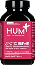 HUM Arctic Repair - Anti-Aging Supplement - Vitamins A & E Rejuvenate Skin Hydration - Omega 3, 6 & 9 with Lingonberry See...