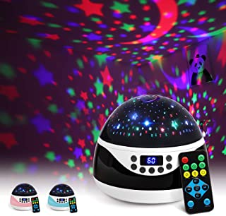 AnanBros Remote Baby Night Light with Timer Music, Star Night Light Projector for Kids,..