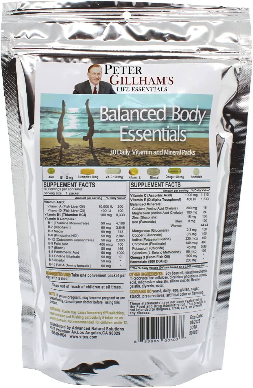Balanced Body Essentials Theta Daily Multi Ranking TOP13 Vitamins OFFicial mail order