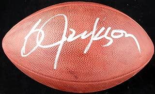 Bo Jackson Autographed NFL Leather Football Oakland Raiders - Beckett COA