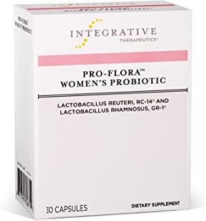 Integrative Therapeutics - Pro-Flora Women's Probiotic - Probiotics for Women with Clinically Researched Strains of Lactob...