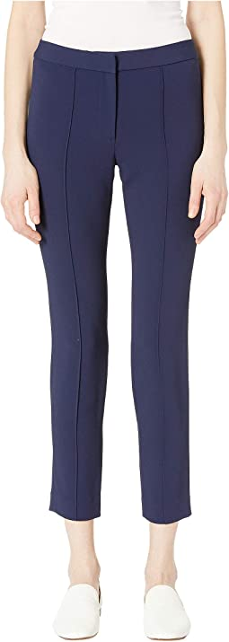 Stretch Cady Cigarette Core Pants