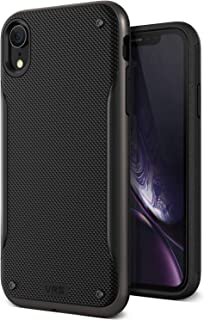 VRS Design iPhone XR High Pro Shield cover / case - Metal Black