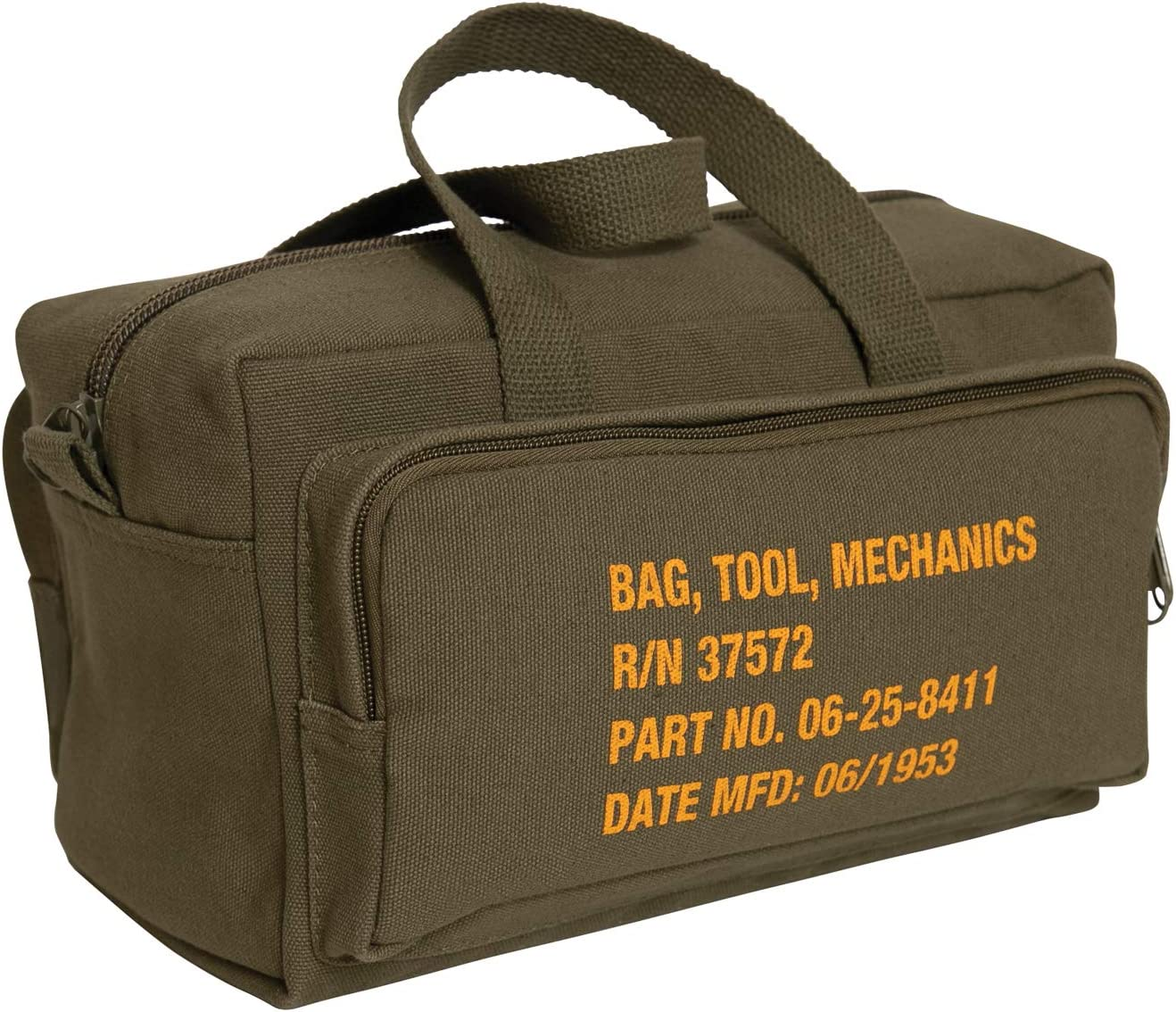 Rothco G.I. Type Zipper Pocket Bag Tool Mechanics Limited Special Price With Military Bombing new work