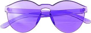 Emblem Eyewear - Mono Block Rimless PC Tonalité Couleur Lunettes de soleil Lunettes Lunettes