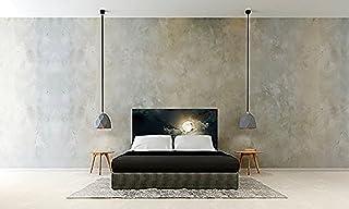 Cabecero Cama PVC Luna | Varias Medidas 150x60cm | Fácil colocación | Decoración Habitación | Motivos paisajísticos | Naturaleza | Urbes | Multicolor | Diseño Profesional