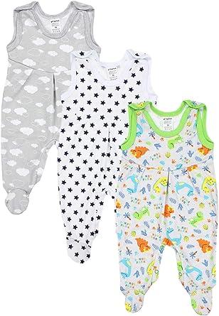 TupTam Peleles para Bebés Niño con Estampados, Pack de 3