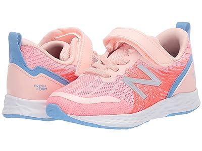New Balance Kids Fresh Foam Tempo (Infant/Toddler) (Peach Soda/Tahitian Pink) Girls Shoes